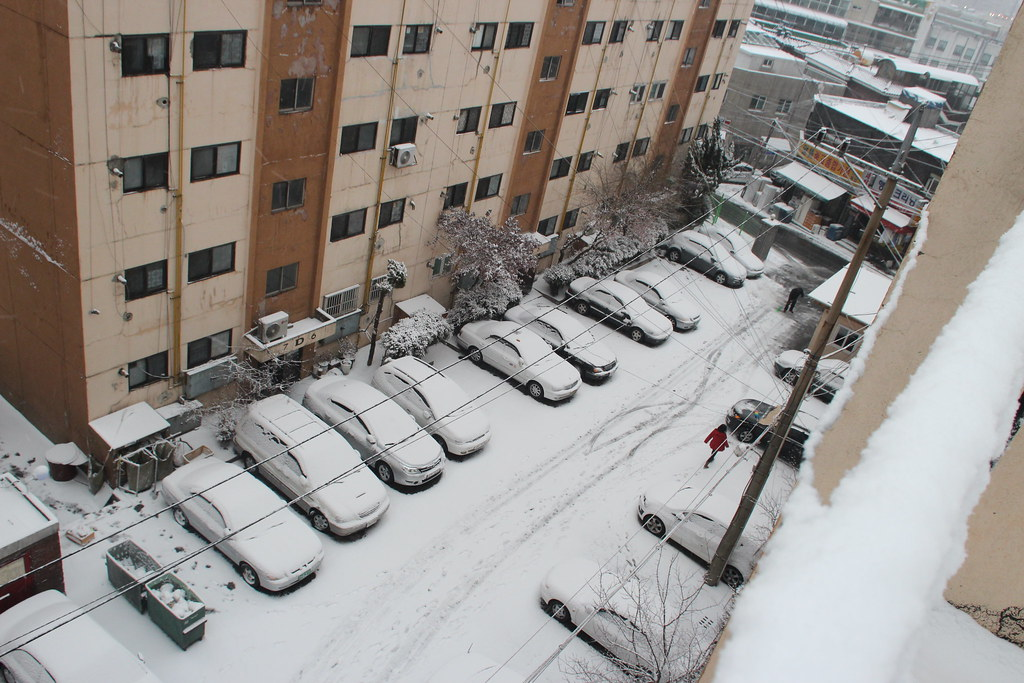 January 2012 Snow in Seoul