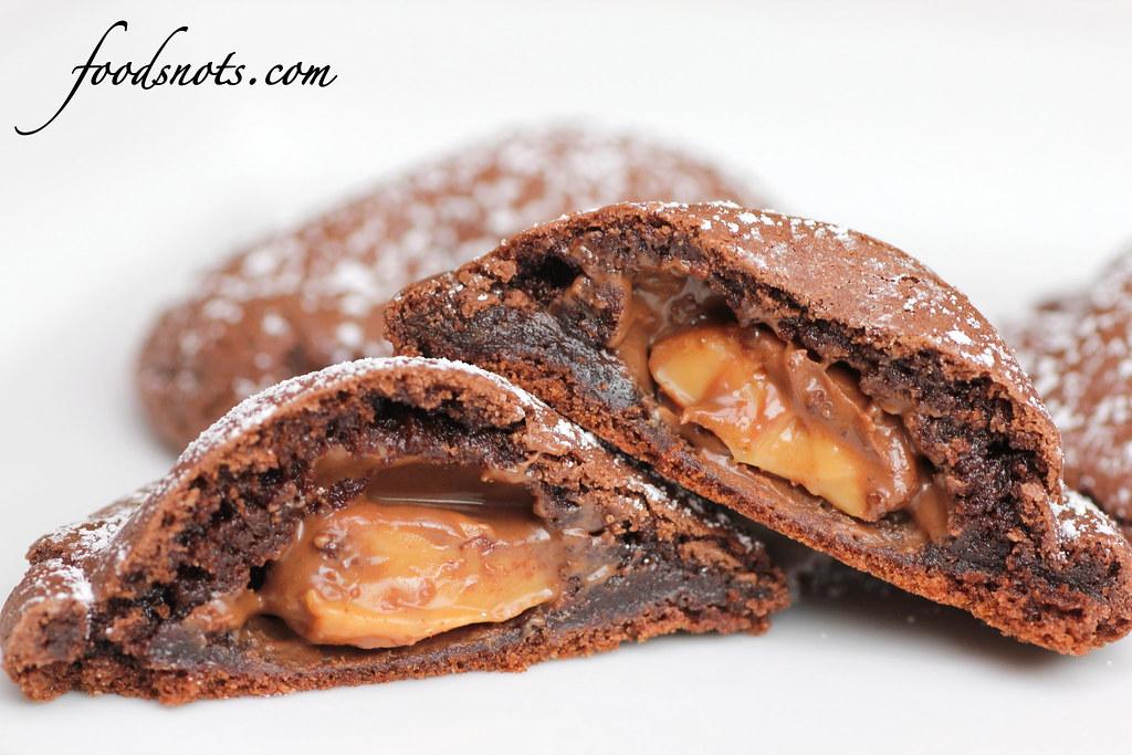 sable cookies aka ninjabread cookies rolo cookies two peas their pod ...
