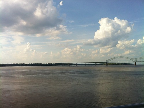 The view from Beale Street Landing, Memphis, Tenn.