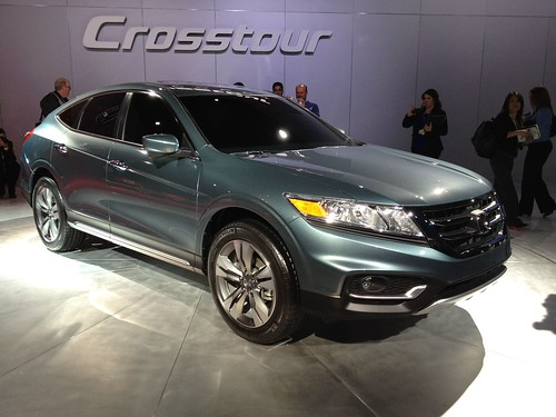 2013 Honda Crosstour @ the 2012 New York International Auto Show