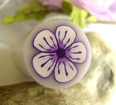 Luminous Lilac Flower Cane