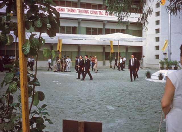Dedication - School of Social Work in Saigon, 1971
