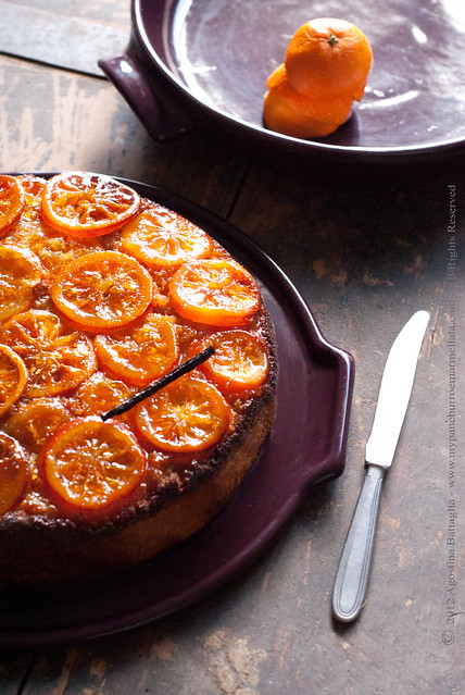 ... Vaniglia - Sticky Orange and Vanilla Upside-down Cake (by Donna Hay