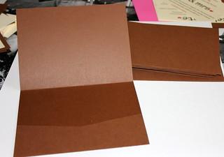 Making Pocketfold Invitations