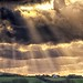 Sunlight Eve rays. Pencuke Farm. Not HDR by Daniel2005
