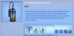 The Rustique Wall Lantern