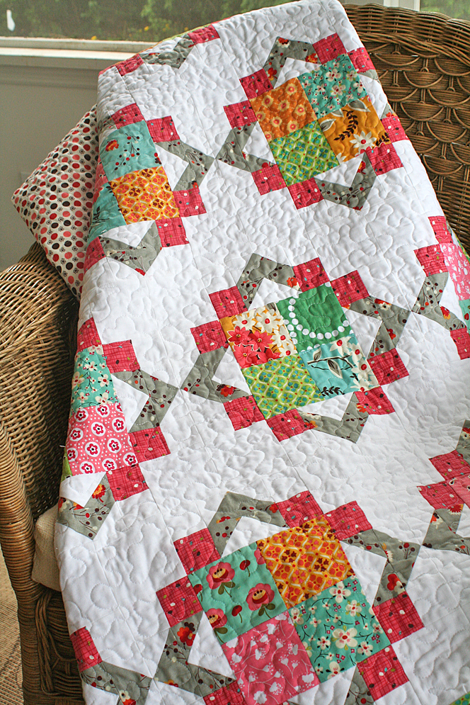 Cathedral Square quilt
