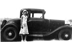 automobile, wheel, vehicle, monochrome photography, sedan, ford model b, model 18, & model 40, vintage car, land vehicle, luxury vehicle, black-and-white,