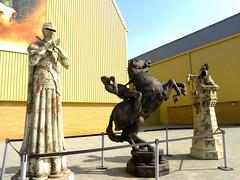 Harry Potter studio tour: Chess pieces