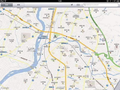 地図アプリ(1)