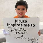 KLRU inspires me to... create, learn and play.