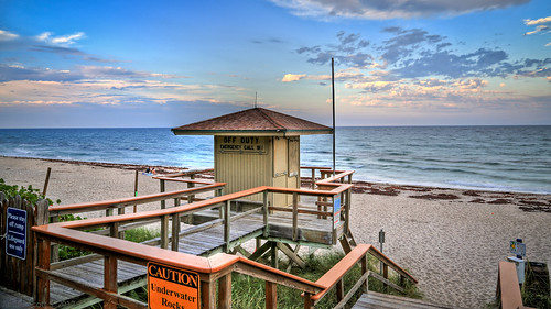 ocean sunset usa 3 beach glass weather canon scott eos james high dynamic florida dusk mark united iii atlantic pro l 5d fl states usm dslr avenue range 42 ef f4 hdr delray a1a photomatix 24105mm worldhdr