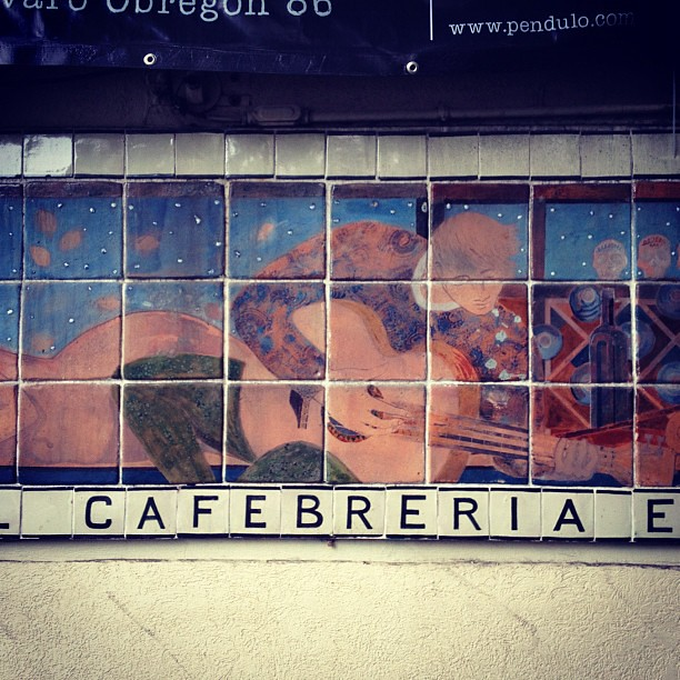 "A city with a local ""cafebrería"" has to be one of a kind. So is #méxicodf"