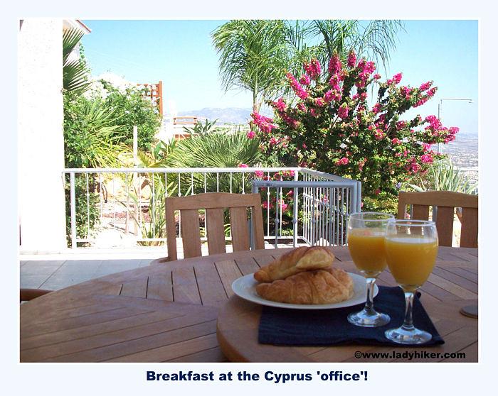 Breakfast in Cyprus