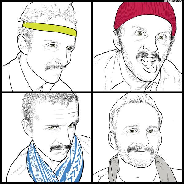 Mikey portraits