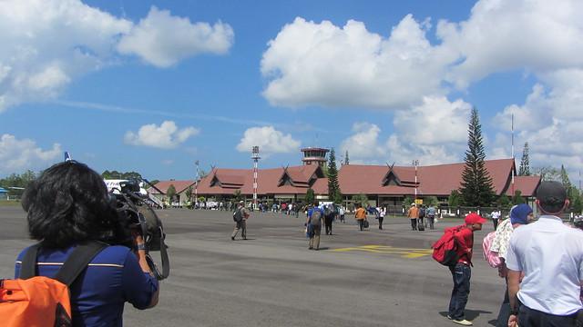 Iskandar Airport (PKN) in Pangkalan Bun, Central Borneo
