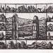 20 Face to face,(1-12),複合媒材,33×39cm,2003