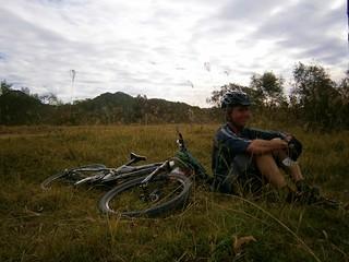 Man and Bike - Eric
