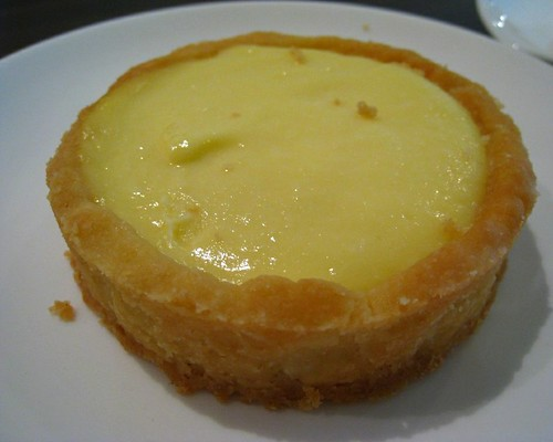 The Muffinry's Lemon Tart at The Broers Cafe