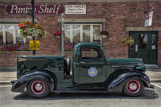 Vintage Bell Telephone Service Truck.