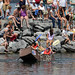 "Small photo of Cardboard Boat Regatta: Introducing ""Floater"""
