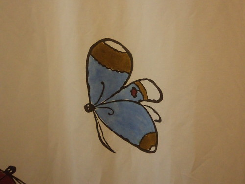Tonino Querra e le sue farfalle.