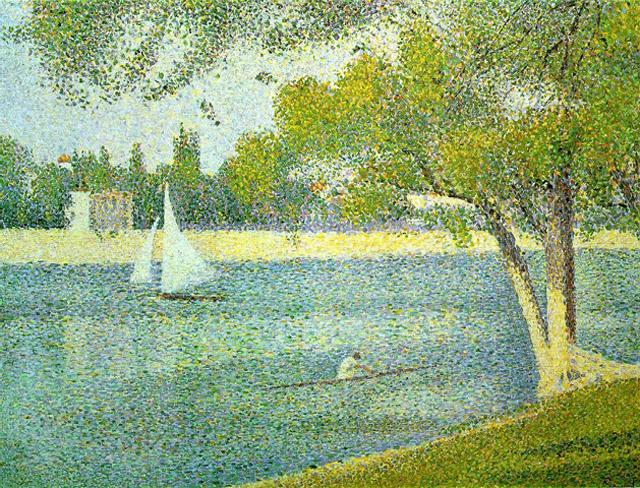 la Seine à la Grande Jatte - Goerges Seurat