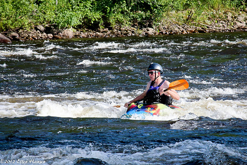Kayaking Limington Rapids, Limington Maine by Genny164