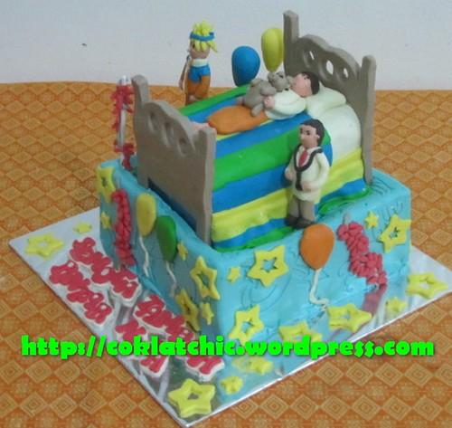 Kue Khitanan dengan tema Cake Sunatan model ini mulai dari harga Rp ...