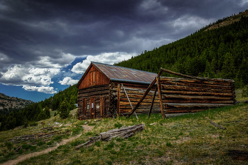 pictures trees canon landscape photography colorado photographer scenic valley 7d co ghosttown aspen roaringfork cabins independencepass photomatix colorefexpro independenceghosttown tobyharriman