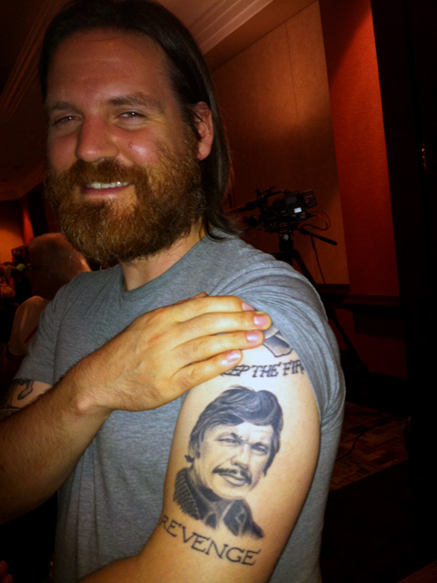 HeroesCon 2012  -- 17 -- Ben Marra and The Greatest Tattoo
