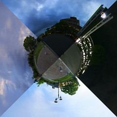 spacecraft(0.0), satellite(0.0), screenshot(0.0), stadium(0.0), space(1.0), reflection(1.0), sky(1.0),