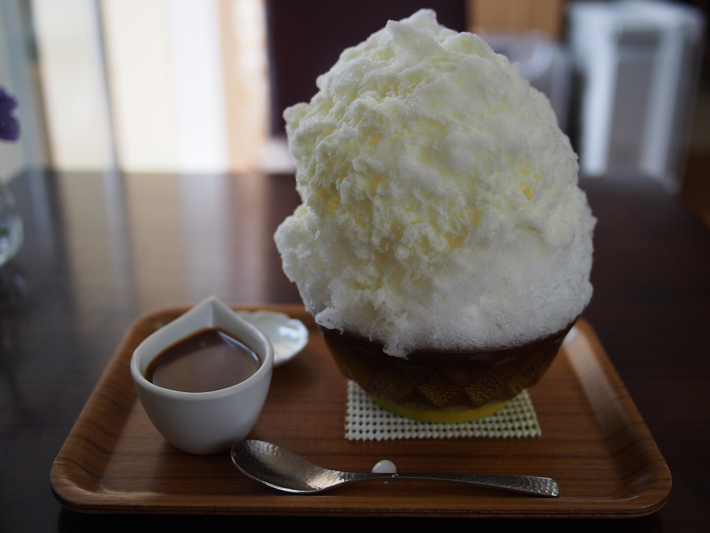 Japanese Shaved Ice - Caramel Milk