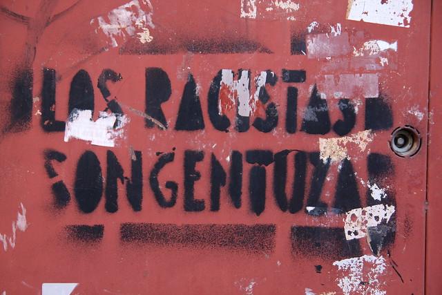 Los racistas son gentuza