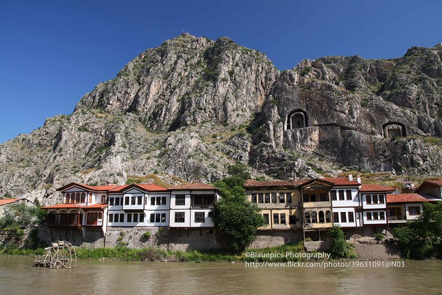 Amasya, old part with rock-tombs of Pontic kings - Explore ...