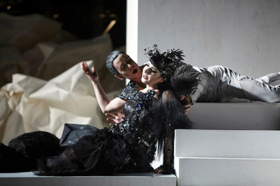Don Giovanni at the Los Angeles Philharmonic. Costume Design: Kate and Laura Mulleavy of Rodarte, Set Design: Architect Frank Gehry. Images by Images by Autumn de Wilde
