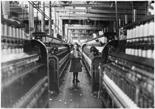 Another of the many small children working in Mollahan Mills, December 1908