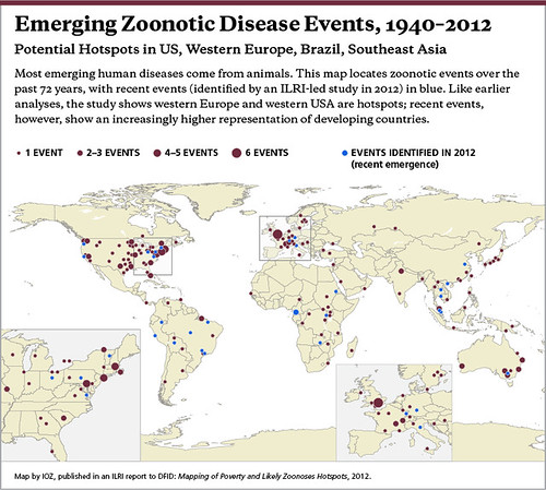 Emerging Zoonotic Diseases Events 1940-2012