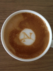 Today's latte, Netscape.
