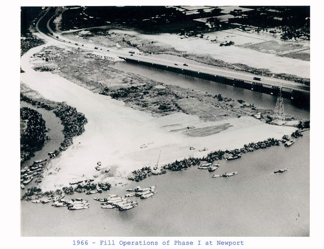 Saigon 1966 - Fill Operations of Phase I at Newport