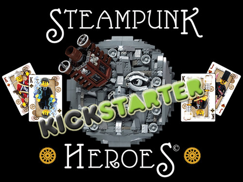 Steampunk Heroes is LIVE on Kickstarter!