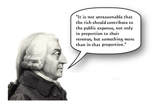Adam Smith Endorses Obama Tax Plan