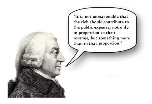 Tax Rates: Adam Smith Speaks