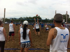 endurance sports(0.0), competition event(0.0), volleyball(1.0), sports(1.0), race(1.0), beach volleyball(1.0), tournament(1.0),