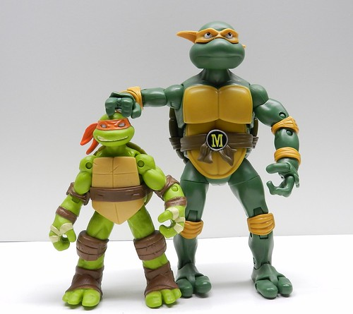 Ninja Turtles Classic Collection Michelangelo at Infinite Hollywood