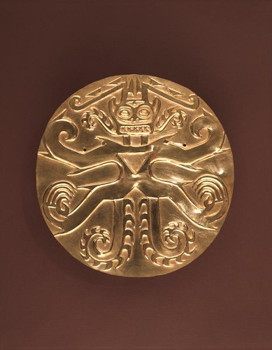 Gold Plaque from Sitio Conte, Panama