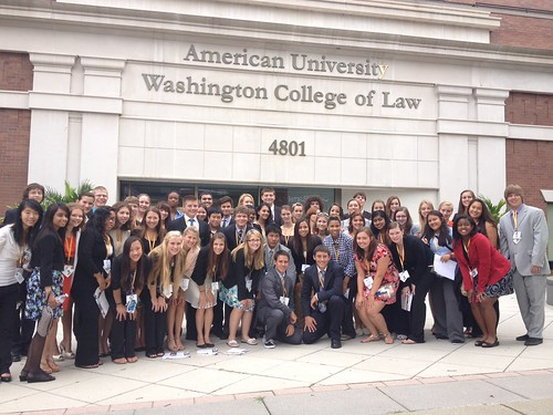 NSLC Visits American University College of Law
