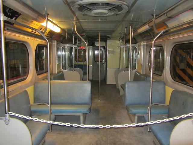 interior montrealer subway car retired ttc m flickr photo sharing. Black Bedroom Furniture Sets. Home Design Ideas