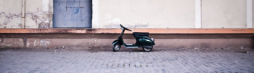 Panorama Vespa by FarbenfroheWunderwelt