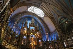 Montreal, Notre-Dame Basilica interior
